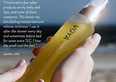 VOYA Mama oil testimonial
